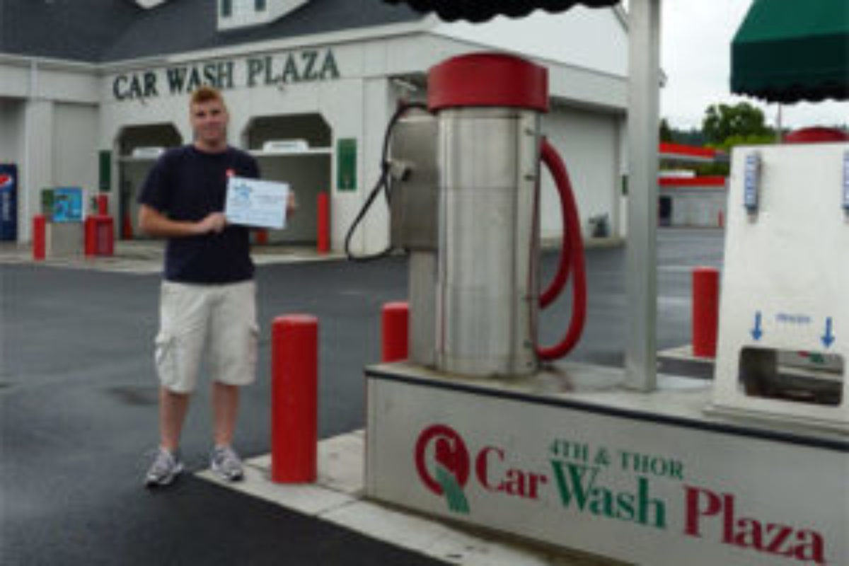 Wash your car at a certified EnviroStars location